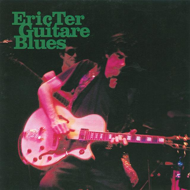 """Pochette de l'album """"Guitare Blues"""" de Eric Ter - 2003"""